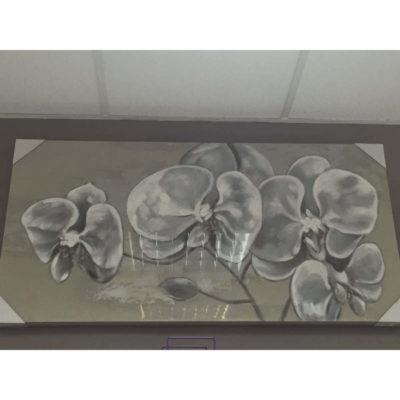 orchidea festmény