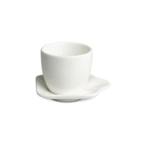 Hagyományos kávés szett, fehér