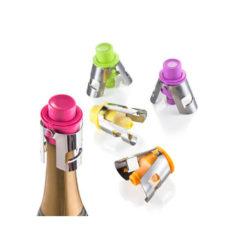 Praktikus műanyag dugó pezsgős üvegekhez