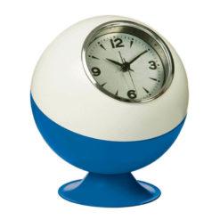 Kék talpú, fehér retro óra