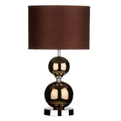 Egyedi stílusú bronz színű lámpa