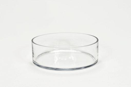 20 cm átmérőjű, üvegből készült tál