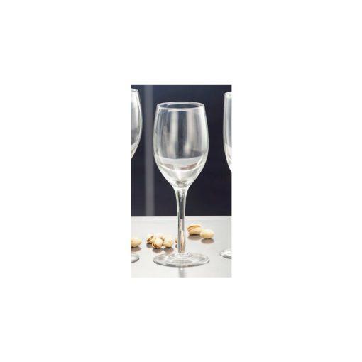 4 darab, fehérborhoz ajánlott üvegpohárból álló szett