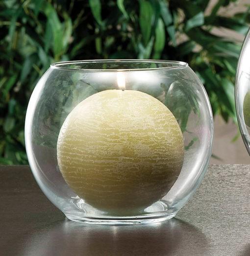 Gömb alakú üvegváza