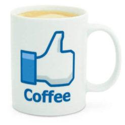 Trendi kávésbögre