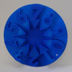 Jégkocka forma, 1-estől a 9-es számjegyig