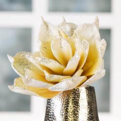 Prémium kategóriás művirág, sárga színű