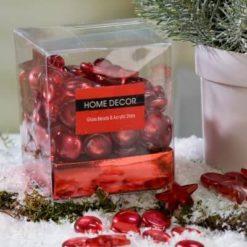 450 grammos csomag piros dekor kő és csillag