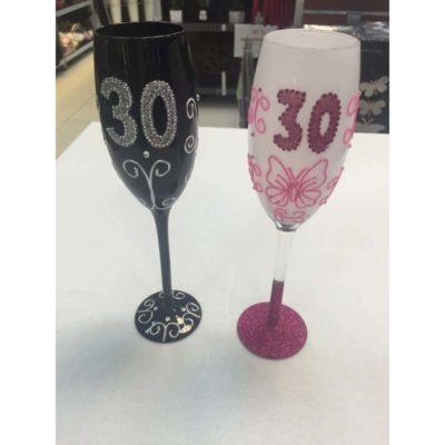 Születésnapos pohár