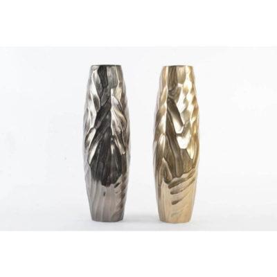 Dekor váza aluminium 50cm