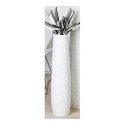 Váza Catania 77cm fehér