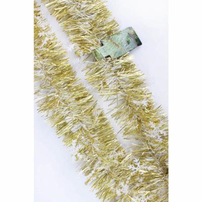 Karácsonyi boa arany-ezüst 2,7m