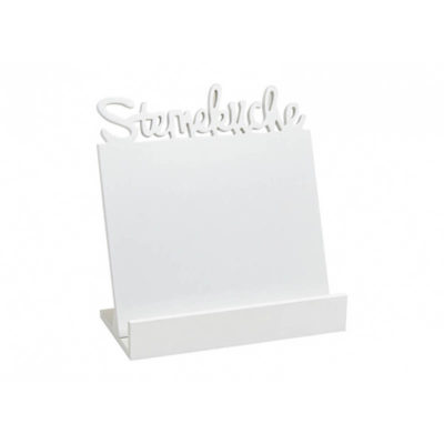 Szakácskönyv tartó fehér