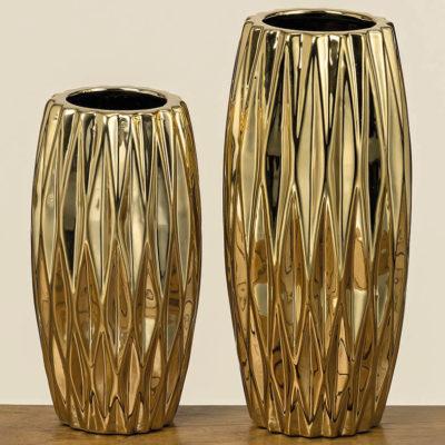 Váza Clariso arany 26cm