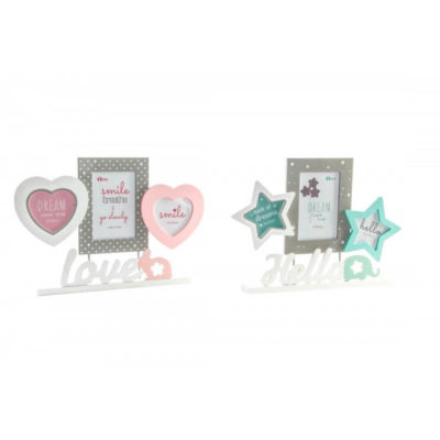 Asztali Képkeret Love és Hello