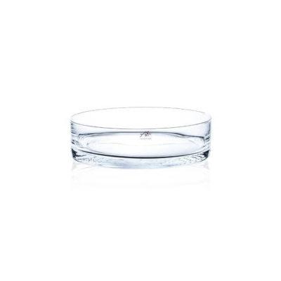Kerek üveg tál 30cm
