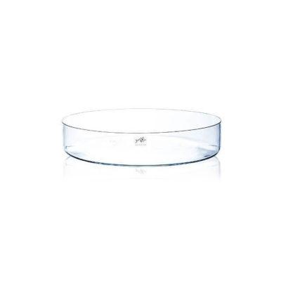 Kerek üveg tál 39 cm