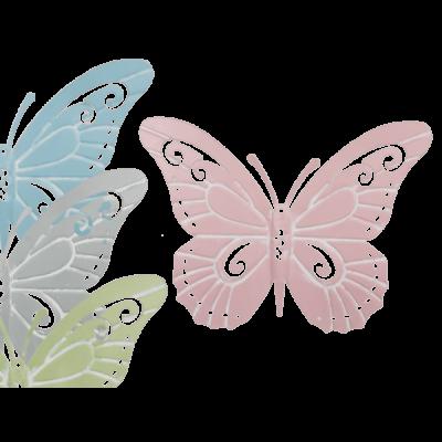 Tavaszi pillangó dekoráció