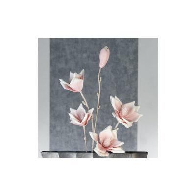 Magnólia virág rózsaszín-fehér 115cm