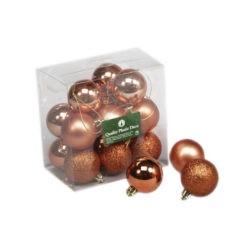 Műanyag karácsonyfadísz gömb