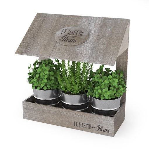 3 részes konyhai növénytartó