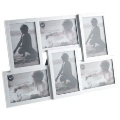 6 részes fali és asztali képkeret ezüst színben Isernia