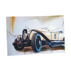 Festmény autós 90x60cm