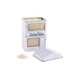 Rizs tartó konyhai tároló