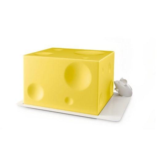 Műanyag sajt tartó