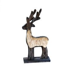 Szarvas dekoráció 30cm
