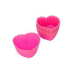Szivecskés szilikon muffin forma