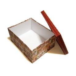 Papír ajándék táska arany 48x40x18,5cm