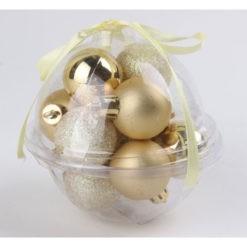 Karácsonyfadísz gömb
