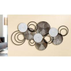 Corro fém fali dekoráció 97x3x47cm
