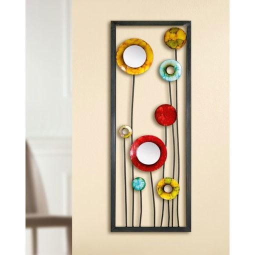 gyönyörű fém fali dekoráció 80x30x2cm