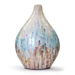 Hatalmas gyöngyház váza 44cm